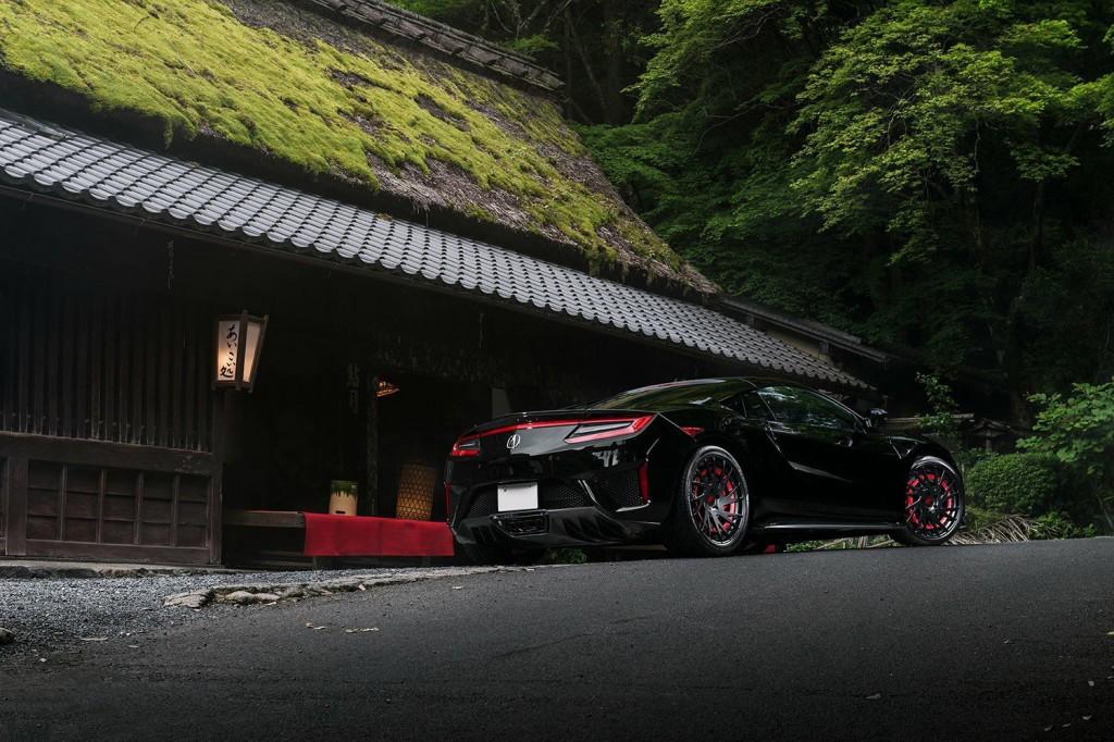 Black Acura NSX -3