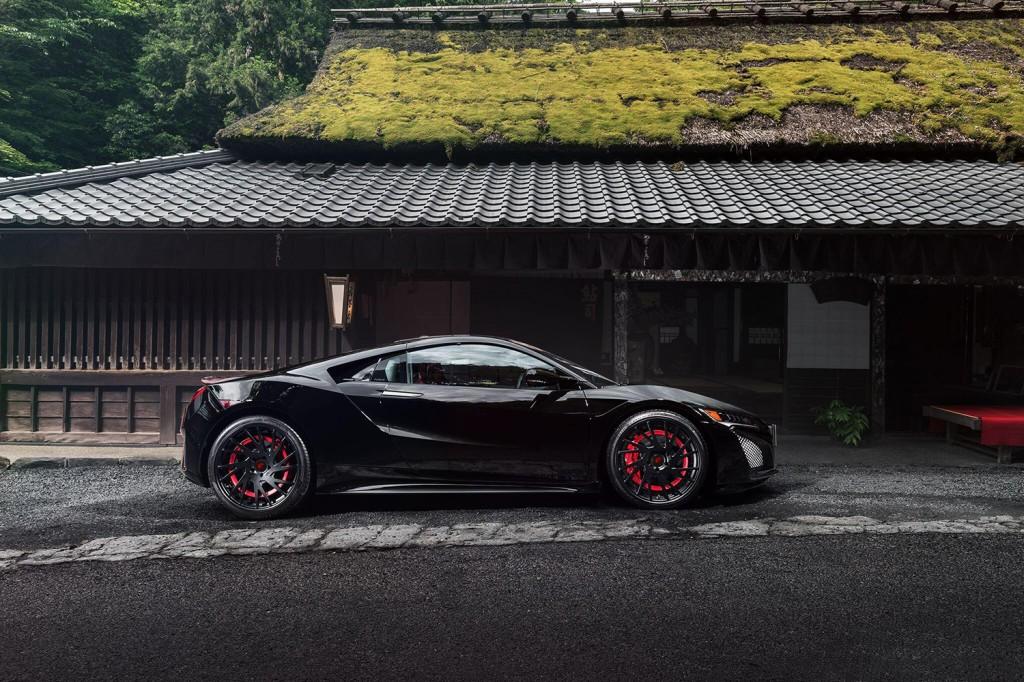 Black Acura NSX -4